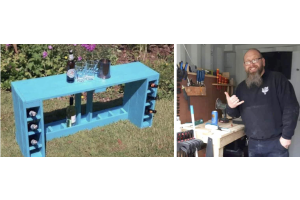 How our used pallets are turned into fabulous furniture