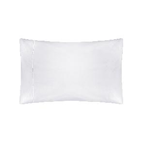 Housewife Pillowcase (76 x 51cm) White Pima Cotton 450tc