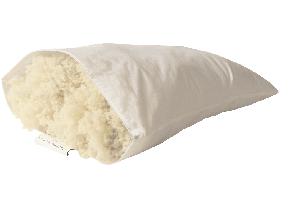 Devon Duvets Twizzled wool pillow