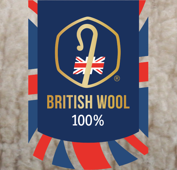 Why do we use only British wool in our wool products?