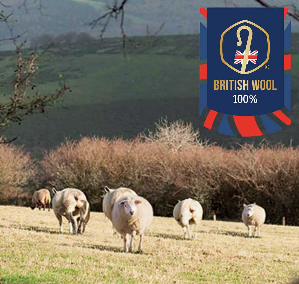 Why we support British farmers by buying 100% British wool for our products