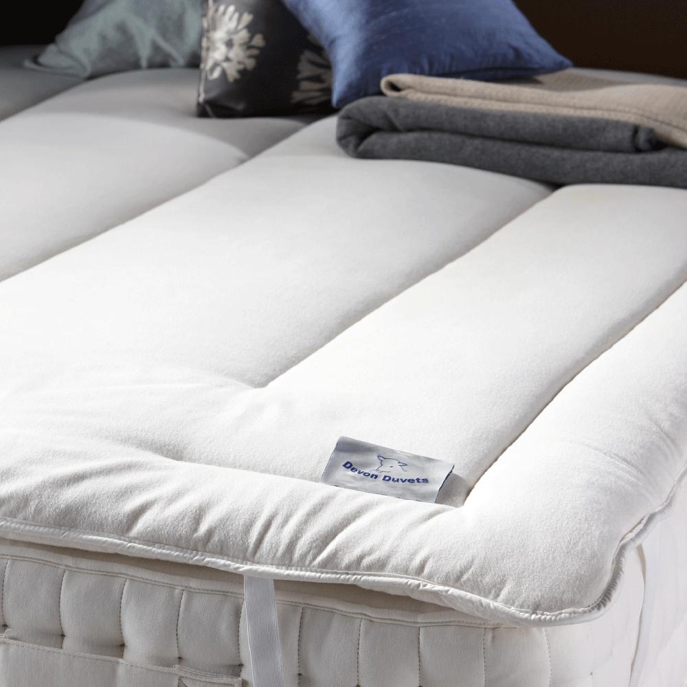 Why a wool mattress topper will help you get a better night's sleep
