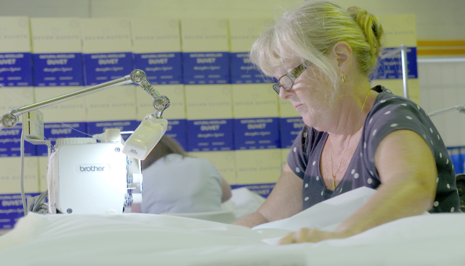 Why Devon Duvets are experts at making one-off bespoke bedding